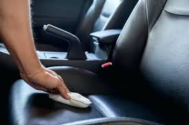 car interior cleaning interior being wiped interior car wash nj