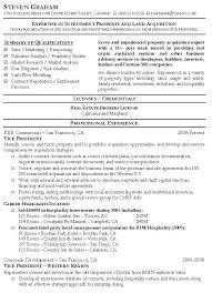 Real Estate Agent Resumes Real Estate Agent Resume Sample Resume