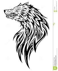 головной волк иллюстрация вектора иллюстрации насчитывающей душегуб