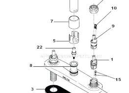 delta sink faucet parts. Showy Delta Bathroom Faucet Parts Fresh Repair Diagram Intended Sink