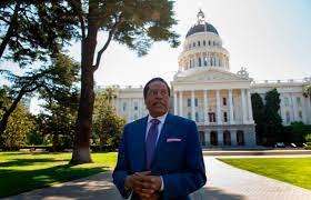 Recall candidate Larry Elder makes ...