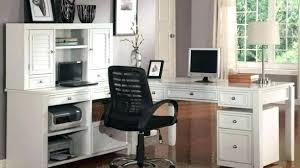 l shaped home office desks. L Shaped Home Office Desk Corner Computer With Hutch Black Pertaining . Desks
