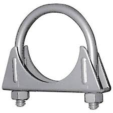 Muffler Clamp Size Chart 2 22 Std Duty Exhaust Clamp Boxed