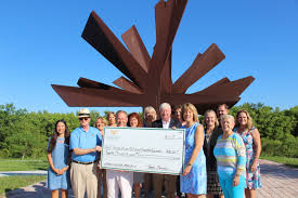 charlotte community foundation makes 20k donation to peace river botanical sculpture gardens