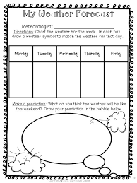 Weather Prediction Chart Weather Unit Teaching Weather Weather Science Weather Unit