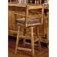 arms oak backs and impressive wooden swivel bar stools with back 46 counter height home design