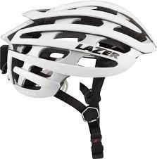 Lazer Z1 Lifebeam Helmet White Silver Md