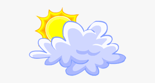 Cloud And Sun Clipart Sun And Clouds Clipart Transparent