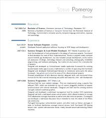 Engineering Resume Templates Word – Doorlist.me