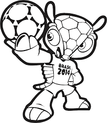 Voetbal Kleurplaat Voetbal Gevecht Medium Jpg 568 215 400