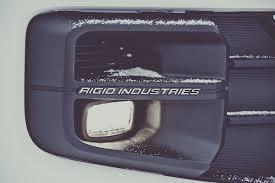 Tacoma Rigid Industries Fog Lights Rigid Led Fog Lamps Standard On 2017 Toyota Tacoma Trd Pro