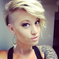 y edgy hairstyles for short hair shaved edgy pixie