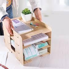 china diy new design 4 layers wooden desktop organizer china desk organizer desk shelf