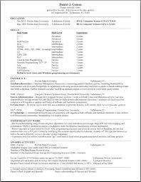 Resume Projects Daniel Gomez
