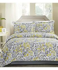 Hotel 5th Ave™ Yellow & Gray Floral Sicily Quilt Set | zulily & ... Yellow & Gray Floral Sicily Quilt Set Adamdwight.com
