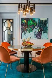 Orange Dining Room Chairs 1000 Ideas About Orange Chairs On Pinterest Chairs Turquoise