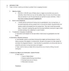 persuasive speech outline sample example  persuasive speech outline sample