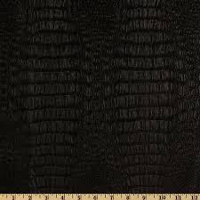 Faux Leather Gator Black - Discount Designer Fabric - Fabric.com &  Adamdwight.com