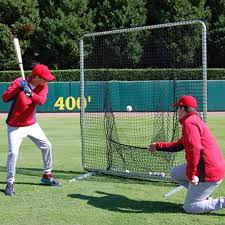 Sock Net with Frame Baseball Training Screens \u0026 Nets | AD STARR