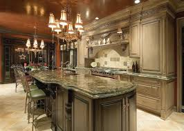 earthy traditional kitchen