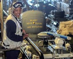 Cwo Navy Usa Patriotism Article Navys First Black Female Cwo Bosn By