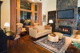 Warm Living Room Warm Living Room Lockie Homes Lockie Homes
