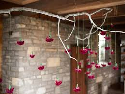 Branch Chandelier How To Make A Hanging Branch Chandelier For Your Holiday Party
