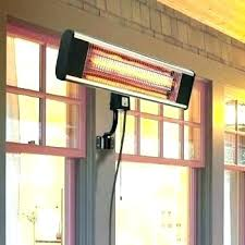 patio heaters outdoor heater paramount wall mount infrared mounted garden infra