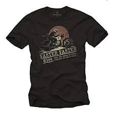 makaya motorbike gifts for men biker t shirt r100 vine motorcylce black s