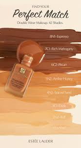 Double Wear Chart Judicious Makeup Skin Tone Chart Olive Skin Tones