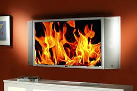 above fireplace on tv screen mantels for flat