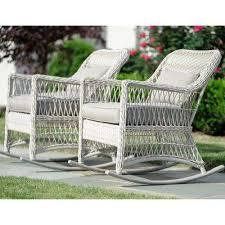 patio furniture white. White Wicker Outdoor Furniture Patio
