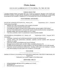 Resume Sample Career Objective Topshoppingnetwork Com