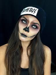 pretty skull makeup