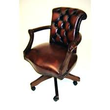 traditional leather office chairs. Antique Leather Office Chair Harrow Swivel Traditional Vintage Retro Chairs