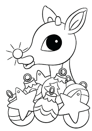 Free Rudolph Coloring Pages At Getdrawingscom Free For Personal