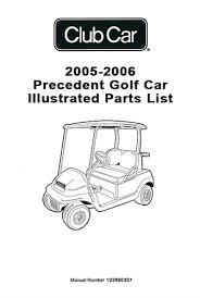 club car precedent gas golf cart parts manual club car troubleshooting guide at Club Car Golf Cart Parts Diagram