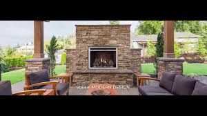 Modern Outdoor Fireplace Designs Napoleon Riverside 36 Clean Face Outdoor Fireplace