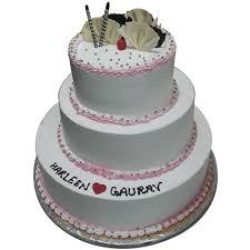 3 Tier Anniversary Cakes Online Delivery In Noida Doorstepcake