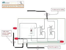 gfci and light switch in the same box bathroom wiring diagram rh seriesanimadas club wiring bathroom fan and light bathroom gfi wiring