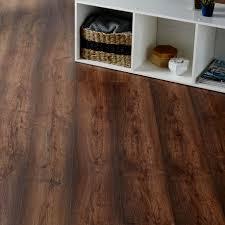 Tamworth Dark Oak Effect Laminate Flooring 2.467 m Pack | Departments |  DIY at B&Q