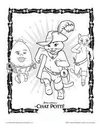 Coloriage Le Chat Pott Imprimer