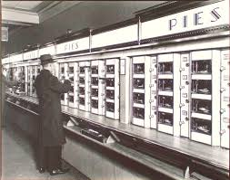Vending Machine Business Nyc New Horn And Hardart Automats Redefining Lunchtime Dining On A Dime