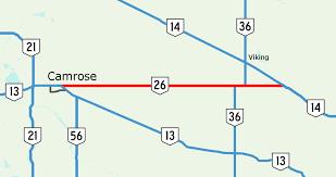 Alberta Distance Chart Alberta Highway 26 Wikipedia