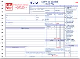 ans systems manual forms hvac service order invoice hvac horizontal service order invoice form 6534