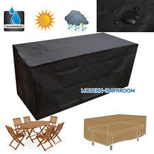 rattan garden furniture covers. waterproof 46 rattan seater furniture set garden patio cover shelter rectangle covers