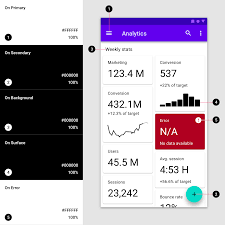 Google Design Style Color The Color System Material Design