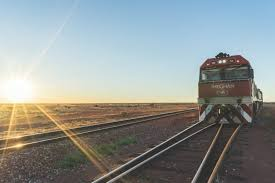 3 days on board the ghan train