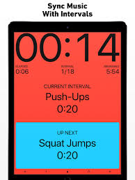 5 Min Timer With Music Seconds Interval Timer Hiit On The App Store