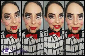 ventriloquist dummy makeup tutorial by eolizemakeup you